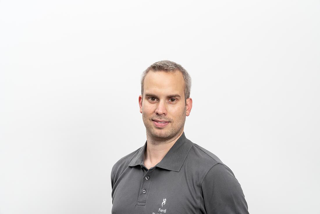 Team - Physiotherapie Waldbüttelbrunn - Ferdinand Bühring